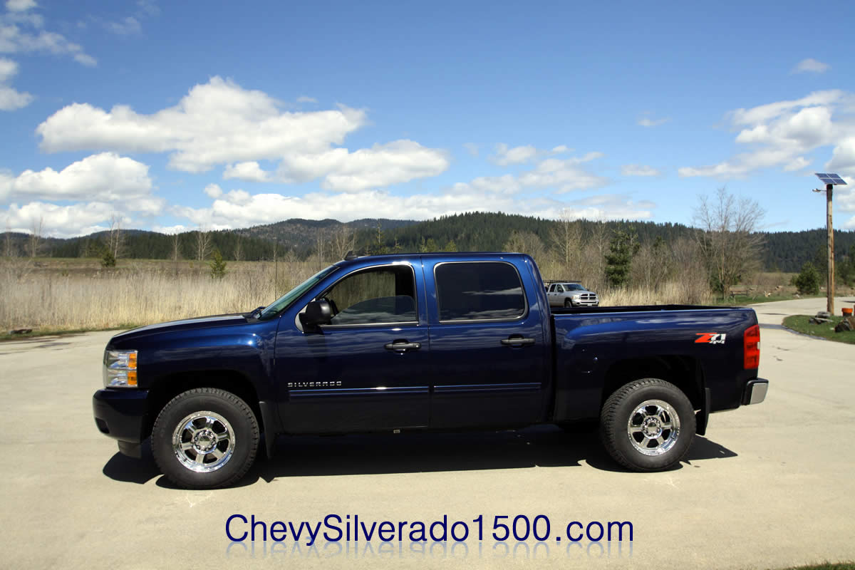 2011 Chevy Silverado Pictures Imperial Blue Metallic Crew Cab 4X4 from ...