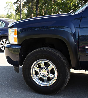 Cooper Discoverer A/T3 mounted on a 2011 Chevy Silverado 1500.