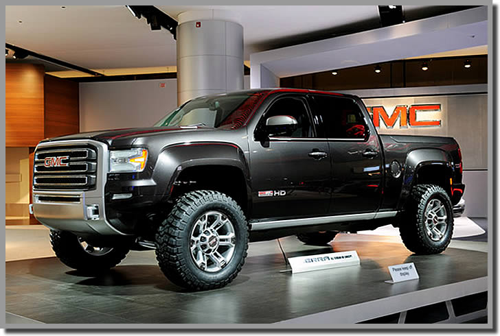 Show all gmc trucks