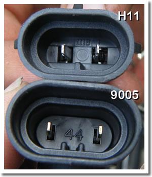 2011 Chevy Silverado Headlight Connectors