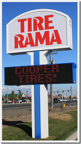 Cooper ST Maxx Tires @ Tire Rama in Spokane WA.