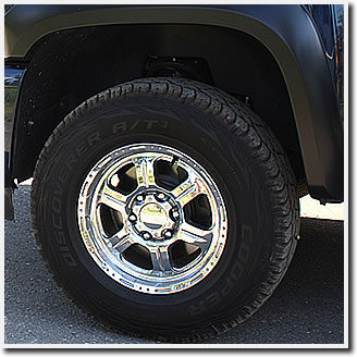 V-Tec 326 wheels mounted on our 2011 Chevy Silverado 1500.