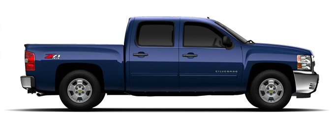 Z71 Off Road Package on the 2011 Chevy Silverado 1500 Crew Cab 4X4.
